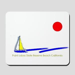 Point Lobos  Mousepad