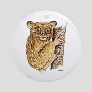 Tarsier Animal Ornament (Round)