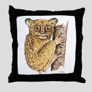 Tarsier Animal Throw Pillow