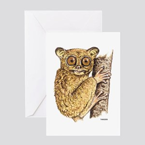 Tarsier Animal Greeting Card