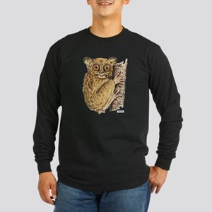 Tarsier Animal Long Sleeve Dark T-Shirt