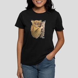 Tarsier Animal Women's Dark T-Shirt