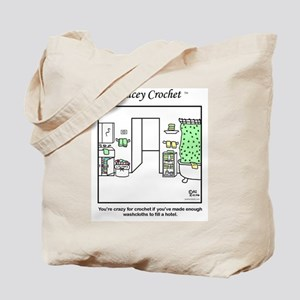 Lacey Crochet's washcloth