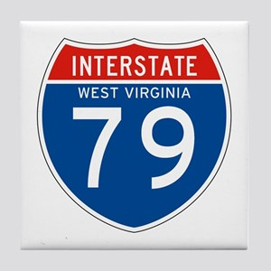 Interstate 79 - WV Tile Coaster