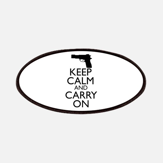 Keep Calm and Carry On Patches