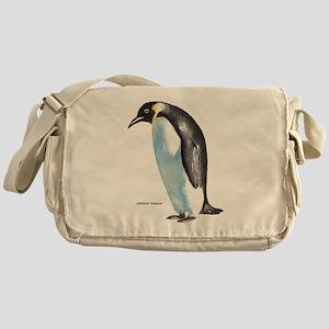 Emperor Penguin Bird Messenger Bag