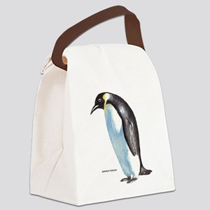 Emperor Penguin Bird Canvas Lunch Bag