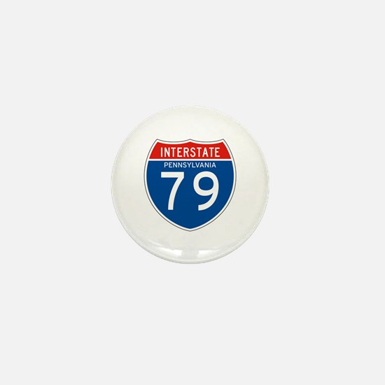 Interstate 79 - PA Mini Button