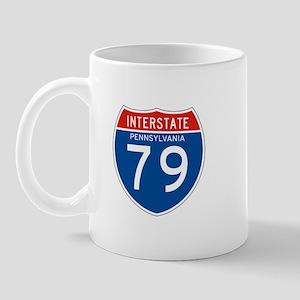Interstate 79 - PA Mug