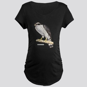 Northern Goshawk Bird Maternity Dark T-Shirt