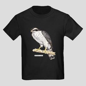 Northern Goshawk Bird Kids Dark T-Shirt