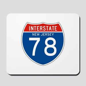 Interstate 78 - NJ Mousepad