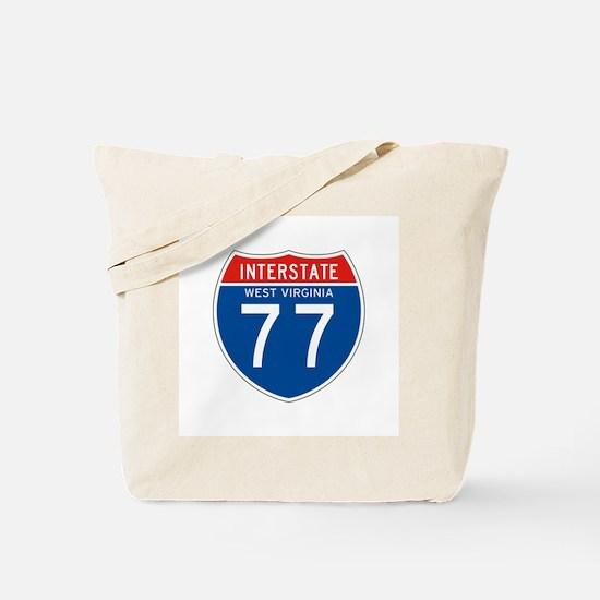 Interstate 77 - WV Tote Bag