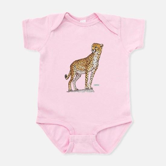 Cheetah Big Cat Infant Bodysuit