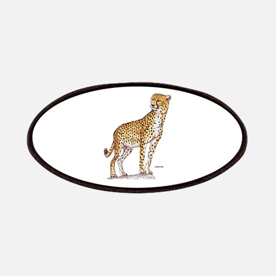 Cheetah Big Cat Patches