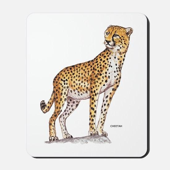 Cheetah Big Cat Mousepad