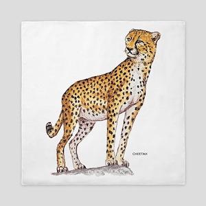 Cheetah Big Cat Queen Duvet