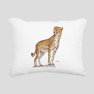 Cheetah Big Cat Rectangular Canvas Pillow