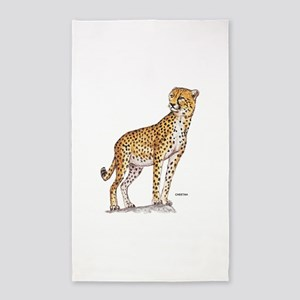 Cheetah Big Cat 3'x5' Area Rug