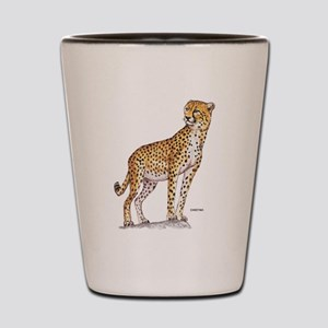 Cheetah Big Cat Shot Glass