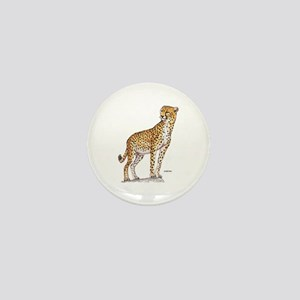Cheetah Big Cat Mini Button