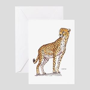 Cheetah Big Cat Greeting Card