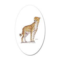 Cheetah Big Cat Wall Sticker