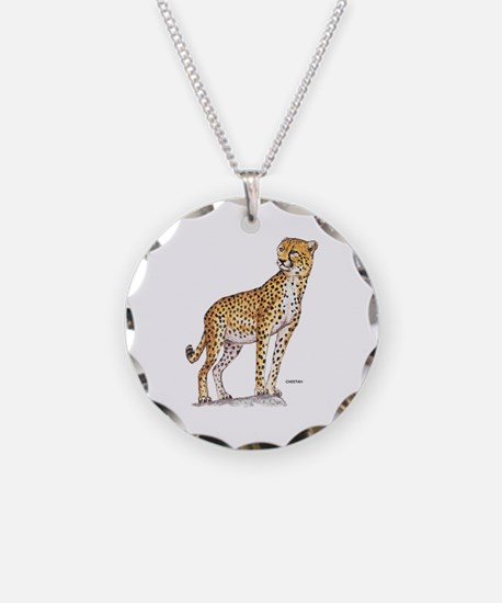 Cheetah Big Cat Necklace