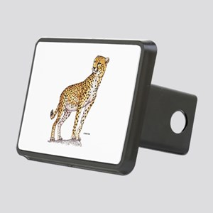 Cheetah Big Cat Rectangular Hitch Cover