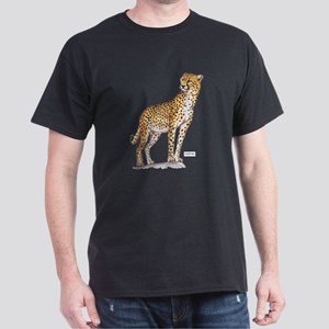 Cheetah Big Cat Dark T-Shirt