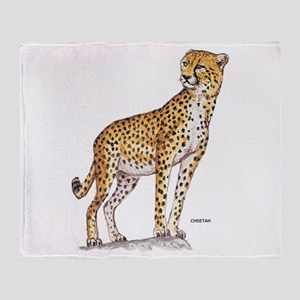Cheetah Big Cat Throw Blanket