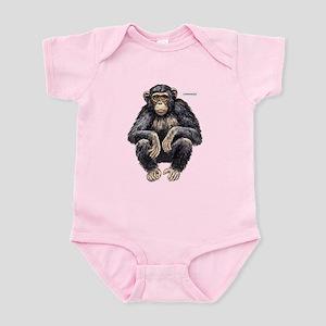 Chimpanzee Monkey Ape Infant Bodysuit