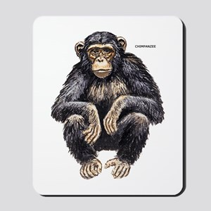 Chimpanzee Monkey Ape Mousepad