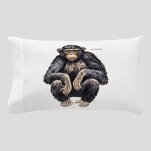 Chimpanzee Monkey Ape Pillow Case