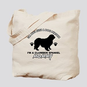 Clumber Spaniel Mommy Tote Bag