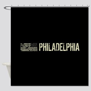Black Flag: Philadelphia Shower Curtain