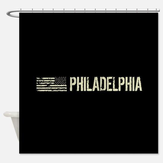 Black Flag: Philadelphia Shower Curtain