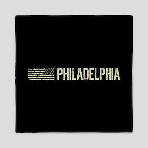 Black Flag: Philadelphia Queen Duvet
