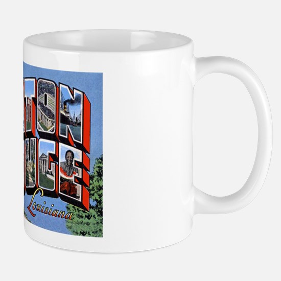 Baton Rouge Louisiana Greetings Mug