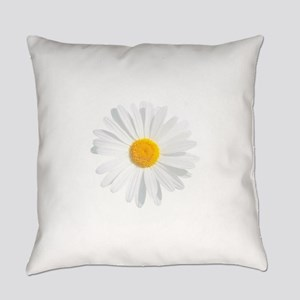fresh white daisy Everyday Pillow