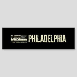 Black Flag: Philadelphia Sticker (Bumper)