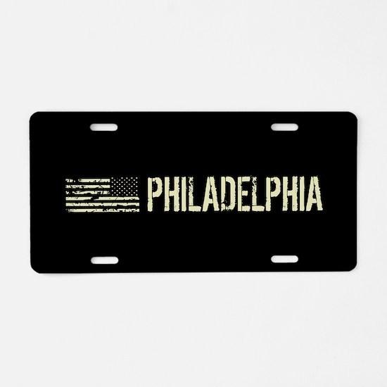 Black Flag: Philadelphia Aluminum License Plate