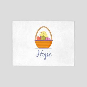 Easter Basket Hope 5'x7'Area Rug