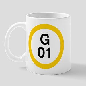 Shibuya Station - G01 - Ginza Mug