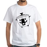 The Happy Rice Cooker White T-Shirt