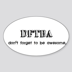 DFTBA Sticker