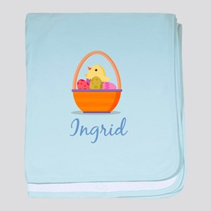 Easter Basket Ingrid baby blanket