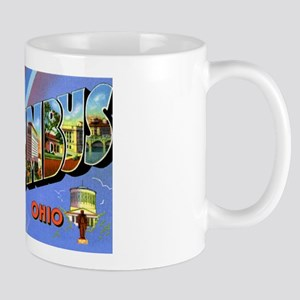 Columbus Ohio Greetings Mug