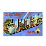 Columbus ohio Postcards