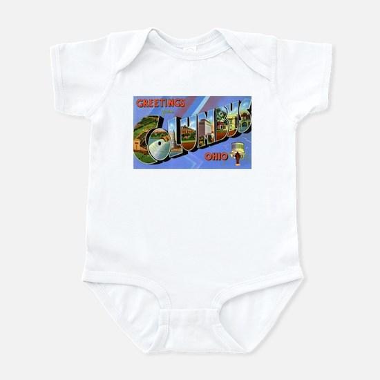 Columbus Ohio Greetings Infant Bodysuit
